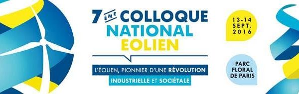 Colloque National Eolien 2016 de France Energie Eolienne