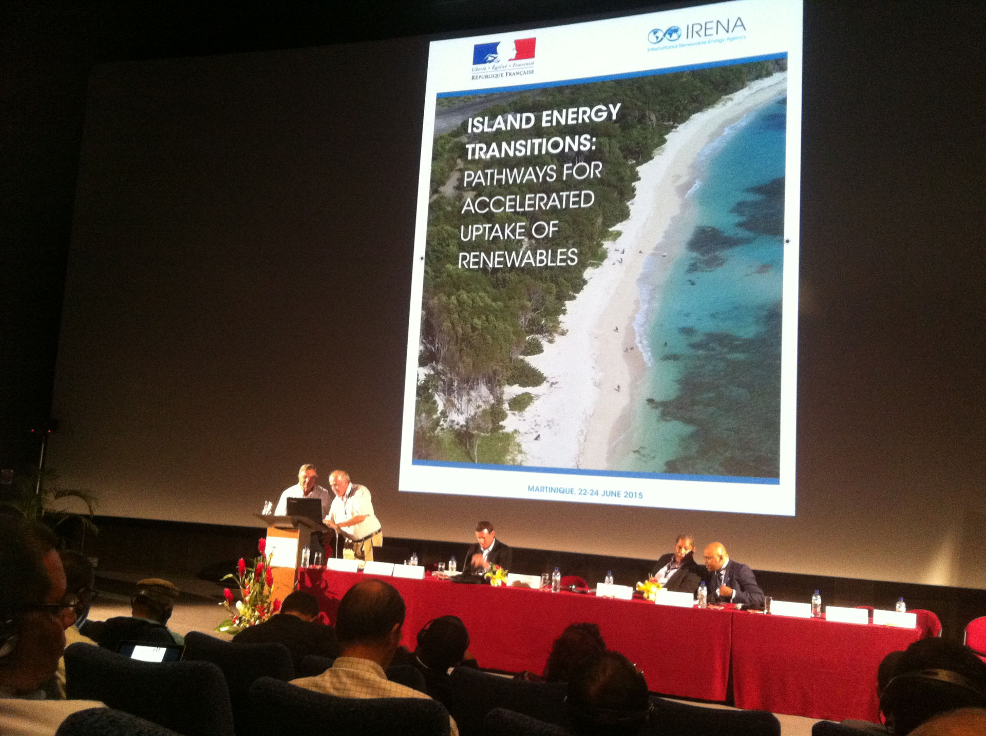 IRENA Conference for Islands-Martinique-2015
